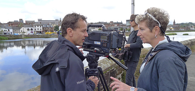Director Marion Milne and Director of Photography Andrew Muggleton